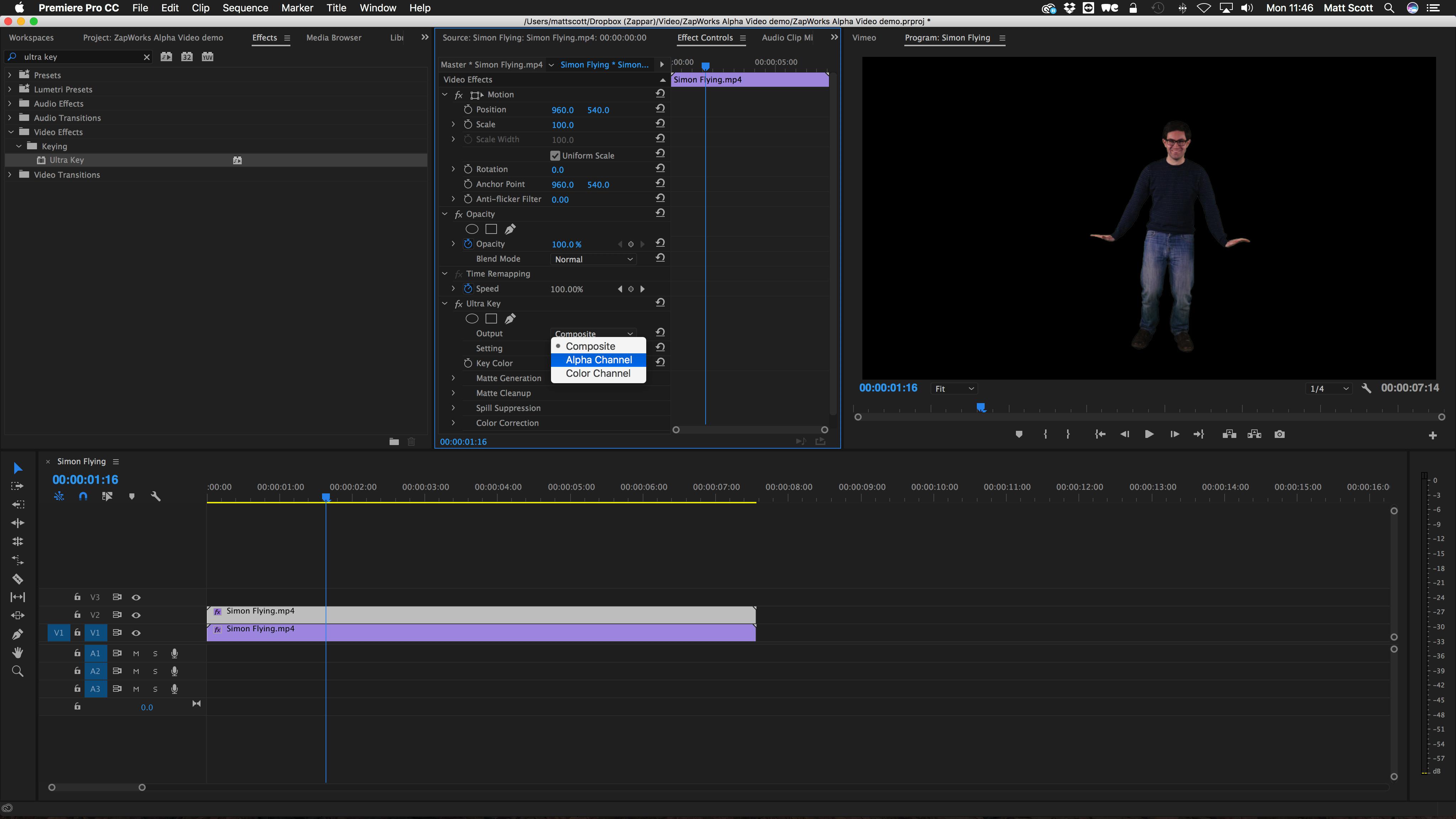 Alpha Video in Studio - Tutorials (Beta) - ZapWorks Forum